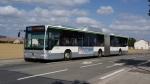 Mercedes Citaro G n° 554 au terminus de la ligne 131 le 14/09/2012.