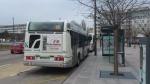 Heuliez GX 317 GNC n° 264 sur la ligne 15 à l'arrêt Vélodrome le 06/02/2014.