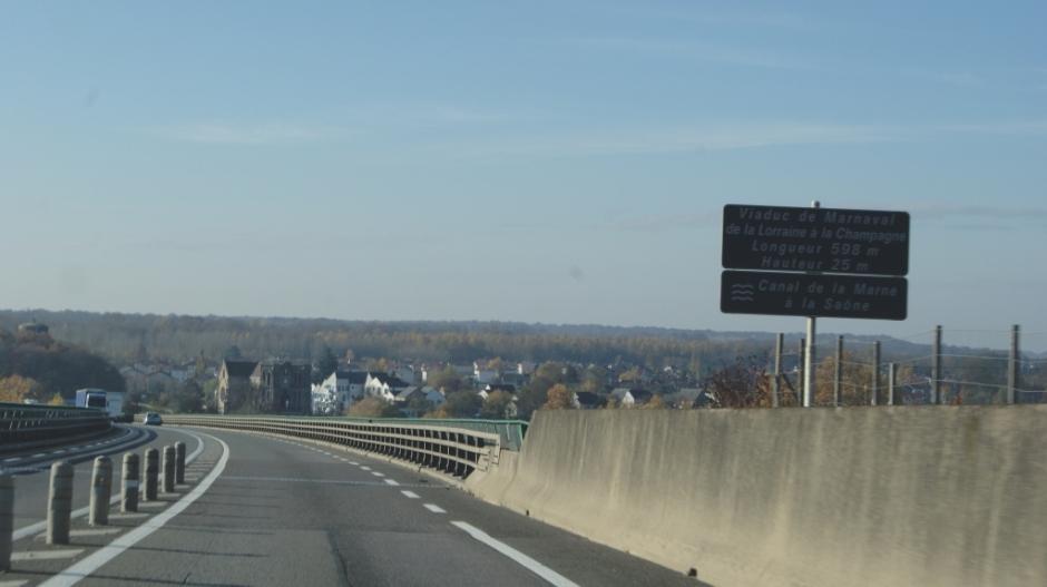 La RN4 à Saint-Dizier.