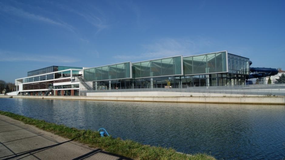 Le Centre Nautique de Saint-Dizier.