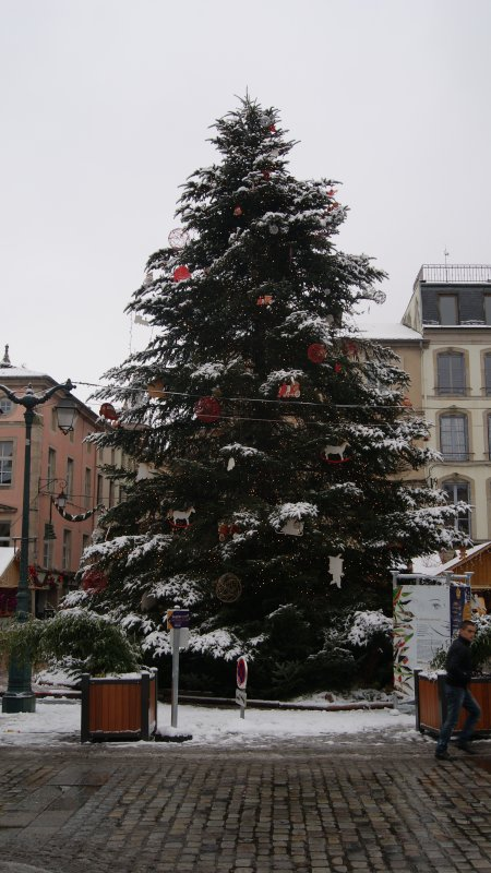 Le village de Noël d'Epinal 2012.