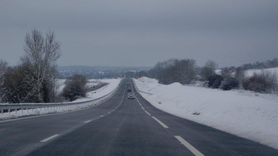 RD 166 : mise en service de la voie Nord.