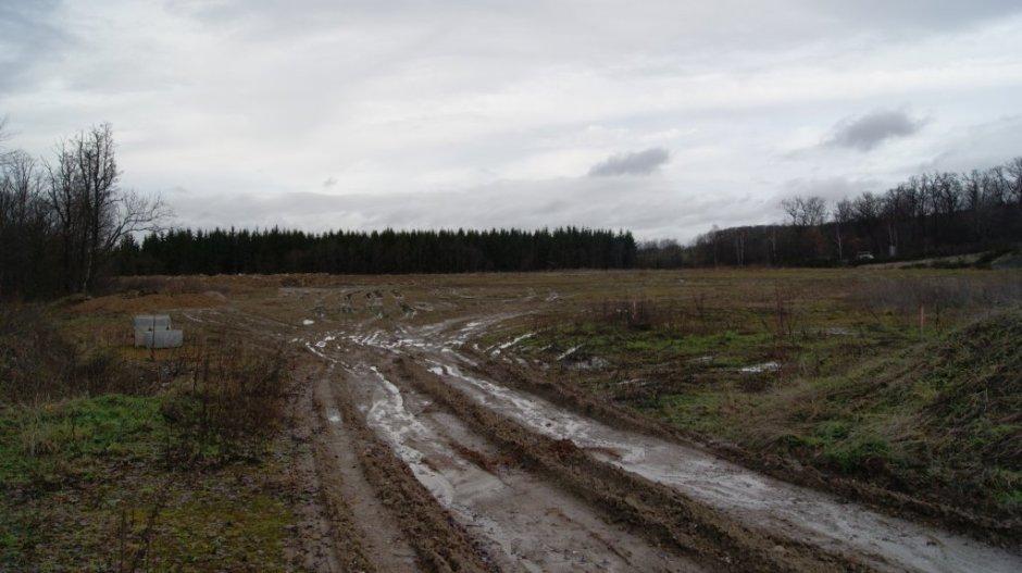 Le site du futur nouvel emplacement de Bragard à Epinal.