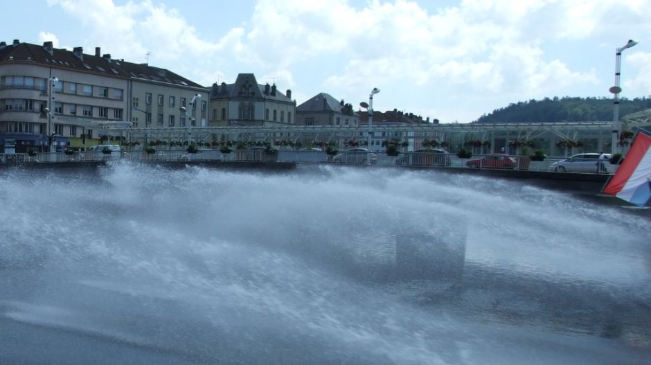 Le pont Couvert en Juillet 2008.