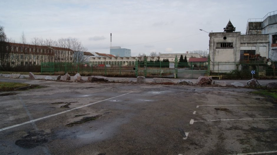 Le parc de la rotonde.