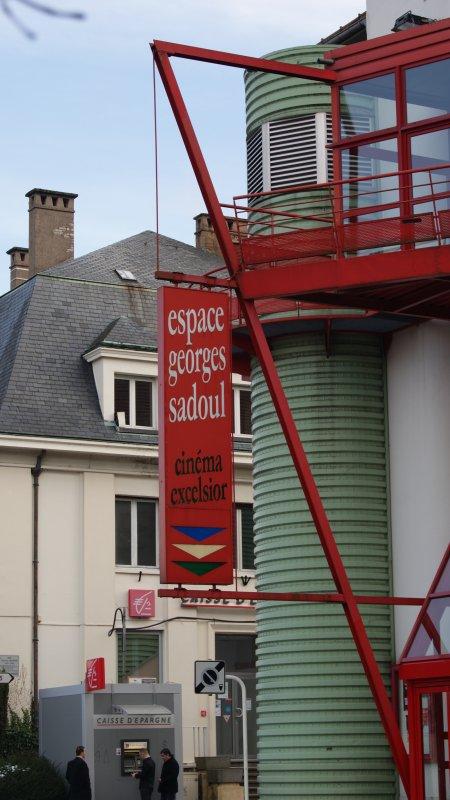 L'Espace Georges Sadoul et le cinéma Excelsior le 26/01/2013.