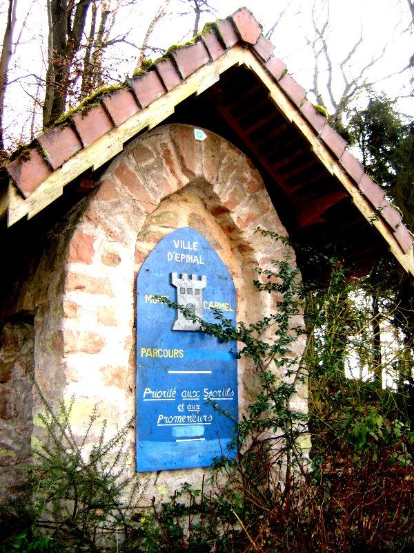 L'ancien parcours de santé du Mont Carmel.