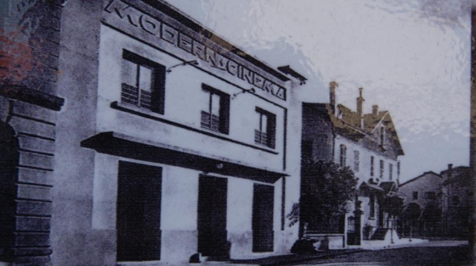 Le Modern Cinéma de Thaon-les-Vosges dans les années 1960.