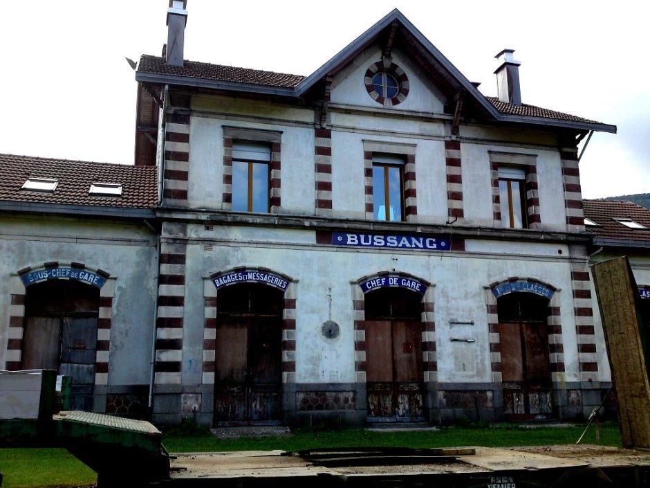 La gare de Bussang.
