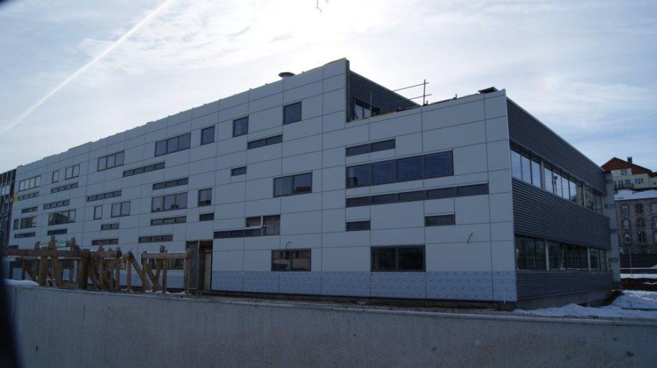 Le centre d'affaires de la Gare d'Epinal.