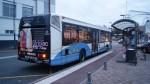 Irisbus Agora S n° 101 à l'arrêt Golbey Hôtel de Ville le 14/11/2015.