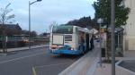 Irisbus Agora S n° 101 sur la ligne 5 à l'arrêt Hôtel de Ville le 07/12/2013.