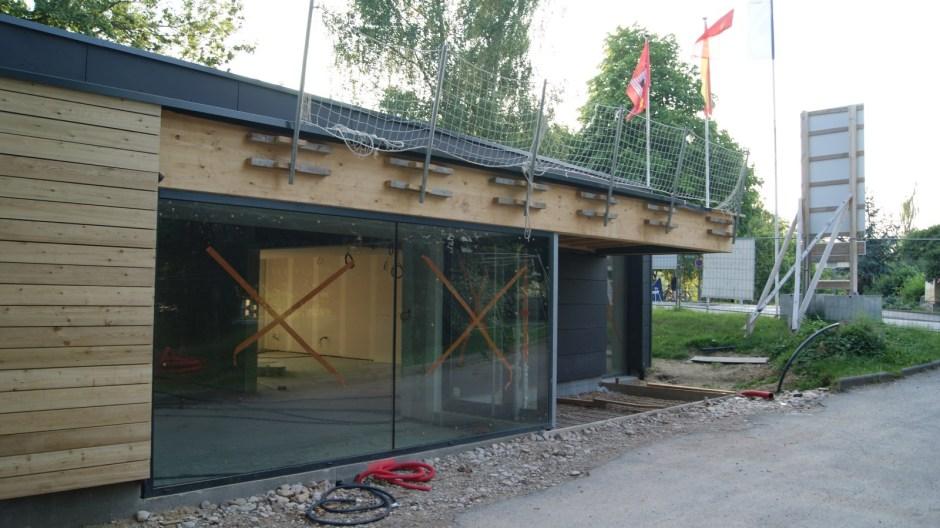 Nouveaux locaux pour le club de canoe-kayak d'Epinal GESN.