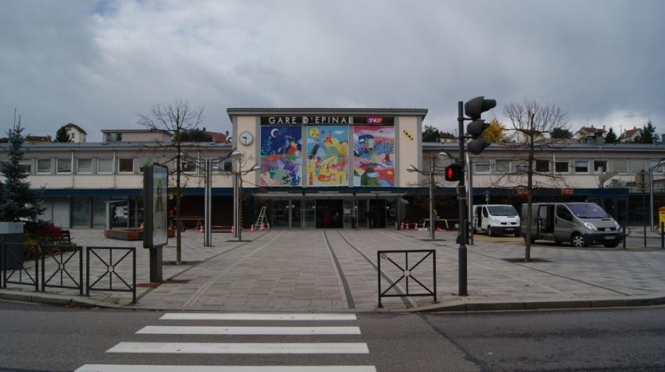 La Gare d'Epinal.