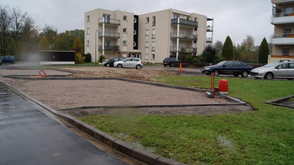 La Place André Jacquemin réaménagée.