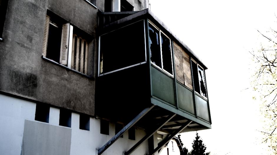 Les immeubles du quartier de Fontaine Ecu à Besançon.