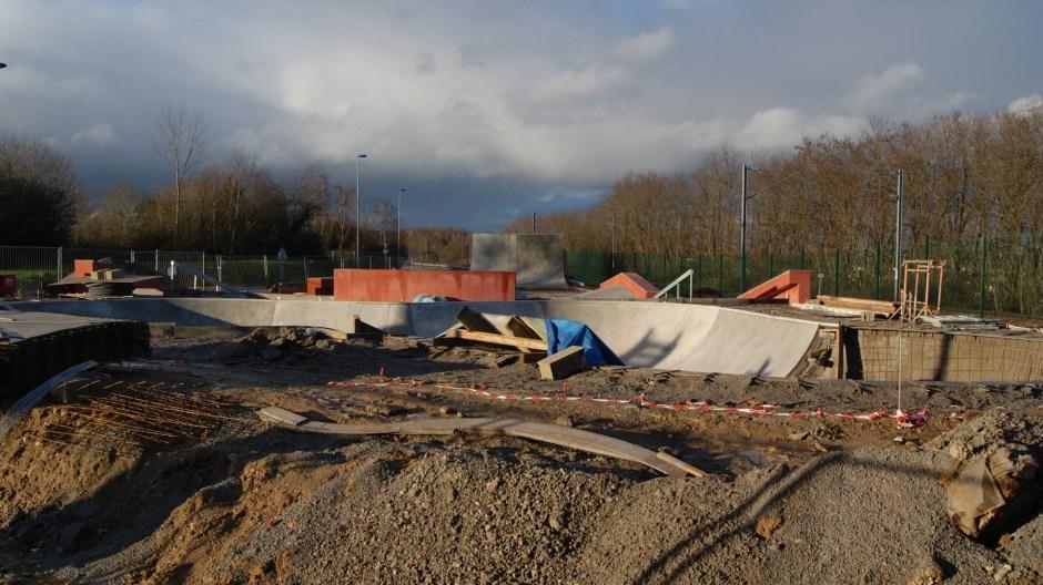 Le skatepark de Thaon-les-Vosges.