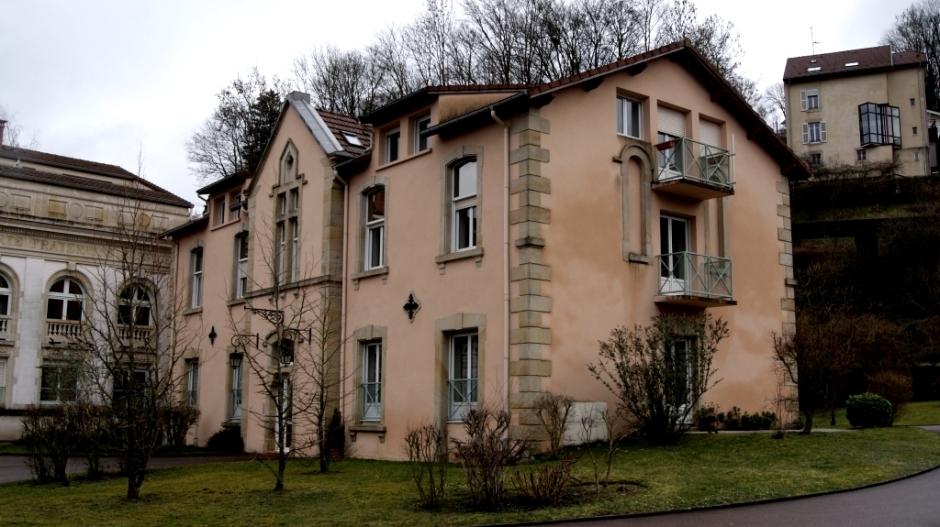 Les anciennes bâtisses Saint-Goery et Saint-Maurice à Epinal.