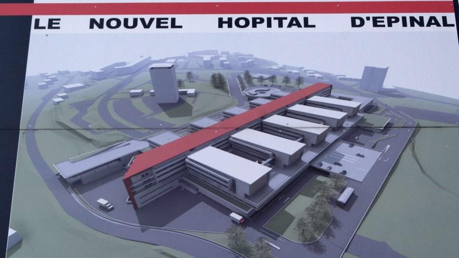 Le futur hôpital Spinalien.