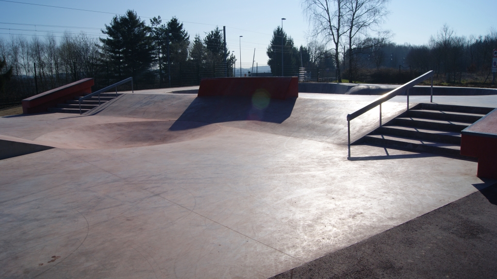 Fin des travaux au skate park de thaon les vosges - Piscine thaon les vosges ...