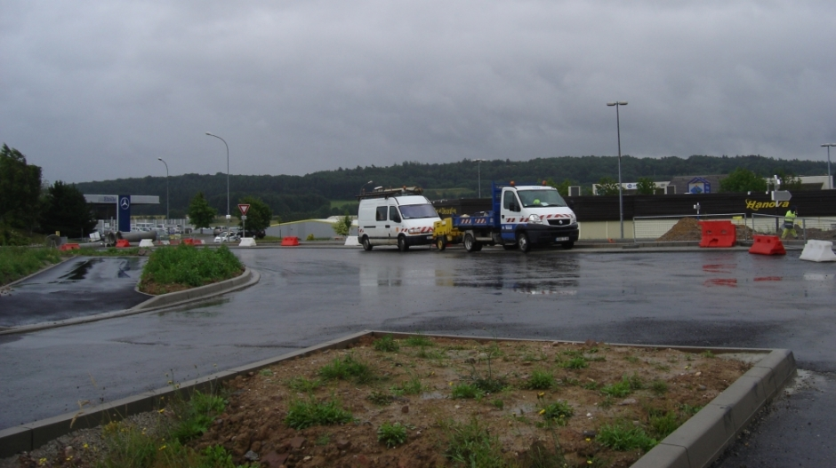 Construction de la ZAC des Terres Saint-Jean à Epinal.