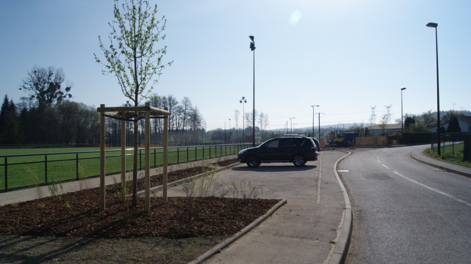 Création d'un espace de sport et détente à Jeuxey.