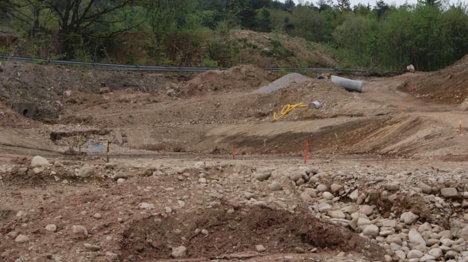 Construction du station d'accueil pour les VBCI à Epinal.