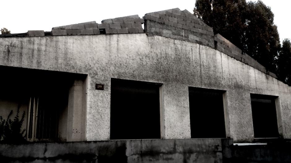 Maison abandonnée à Epinal.