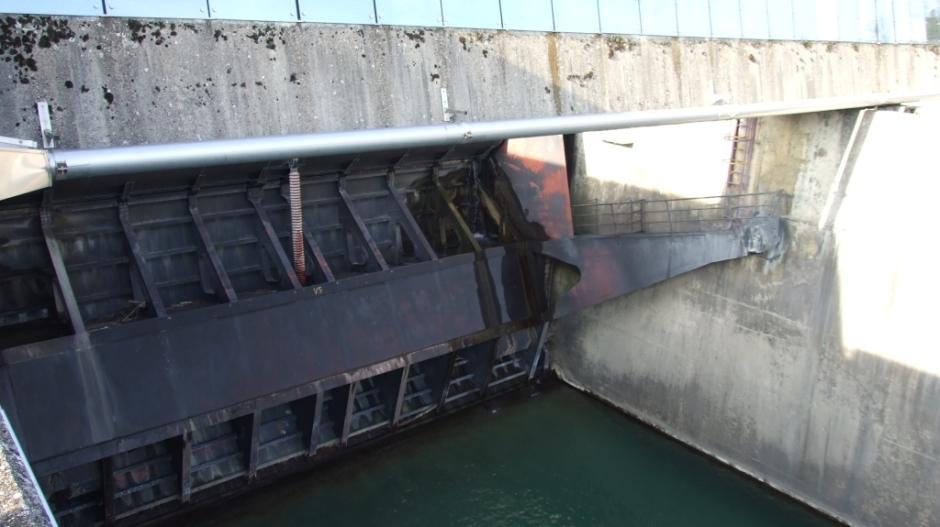 Le barrage de Seyssel sur