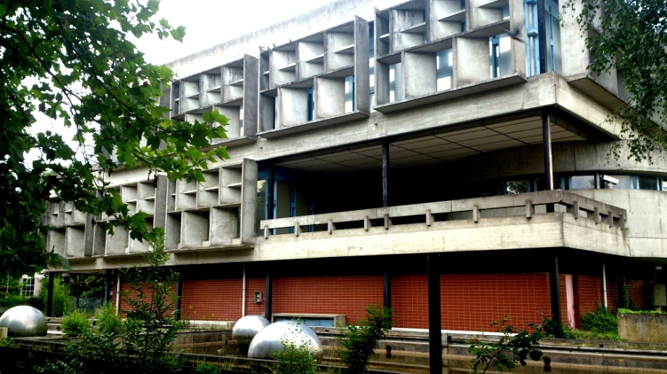 L'ancien centre d'information d'EDF à La Source.