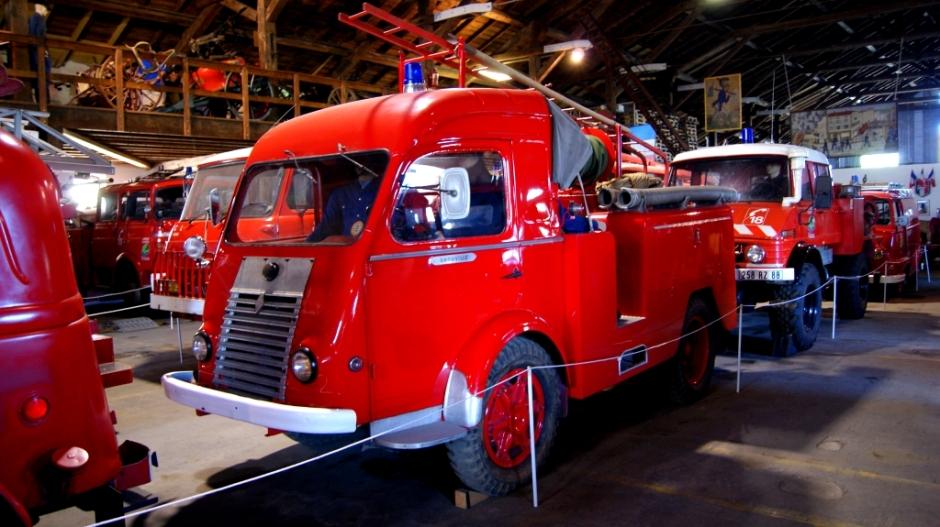 Le Musée des Pompiers d'Epinal.