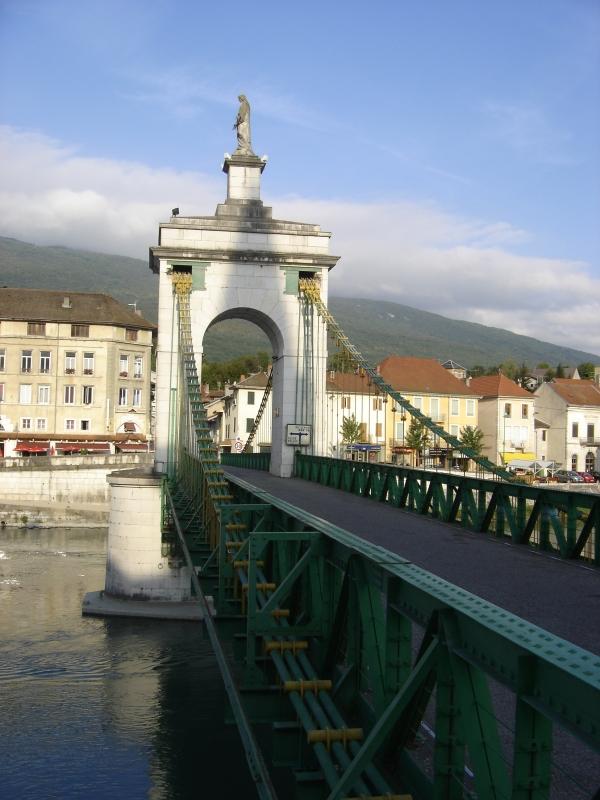 L'ancien Pont de Seyssel.