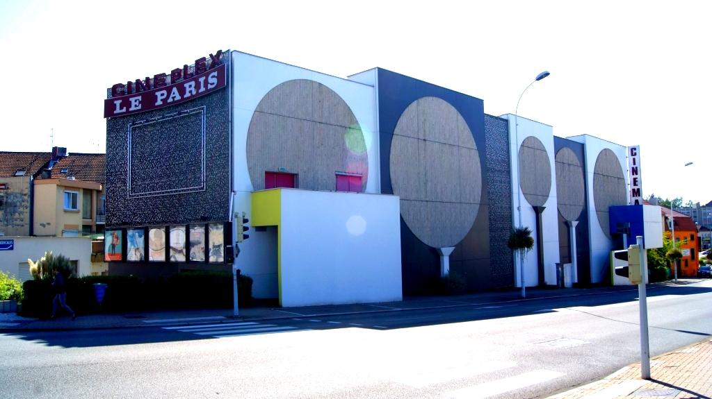 Le Cinéma Cinéplex Le Paris de Forbach  TransVosges