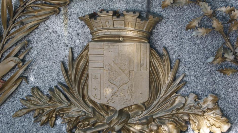 Le Monument aux Morts de Saint-Avold.