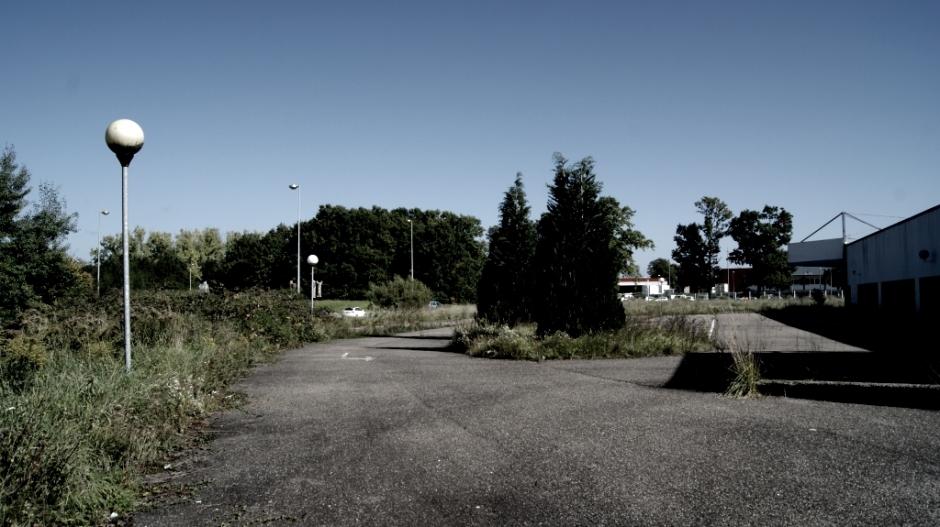 L'ancien Conforama de Sarreguemines.