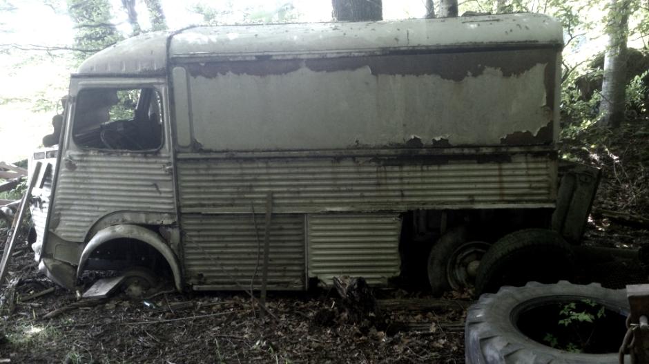CitroënTUB abandonné sur le secteur d'Epinal.