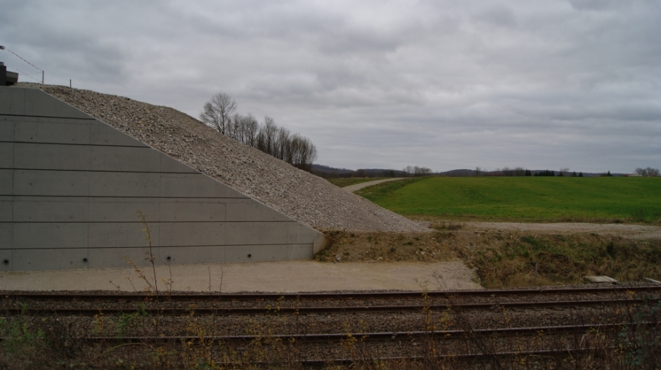 Travaux de mise à 2x2 voies de la RN19 entre Lure et Amblans.