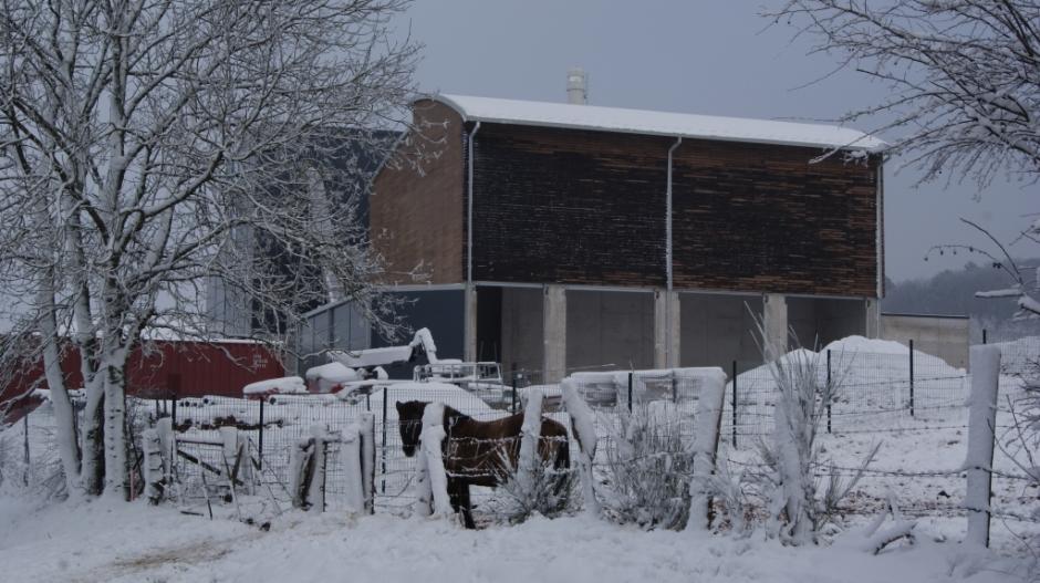 Construction de la Chaufferie Biomasse d'Epinal.