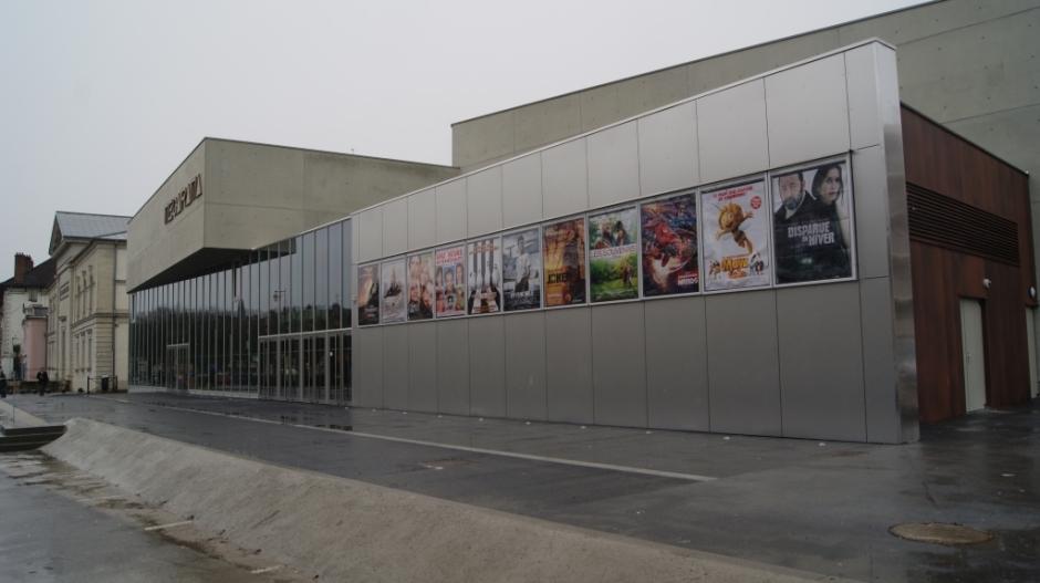 Le Multiplexe Mégarama de Lons-le-Saunier.