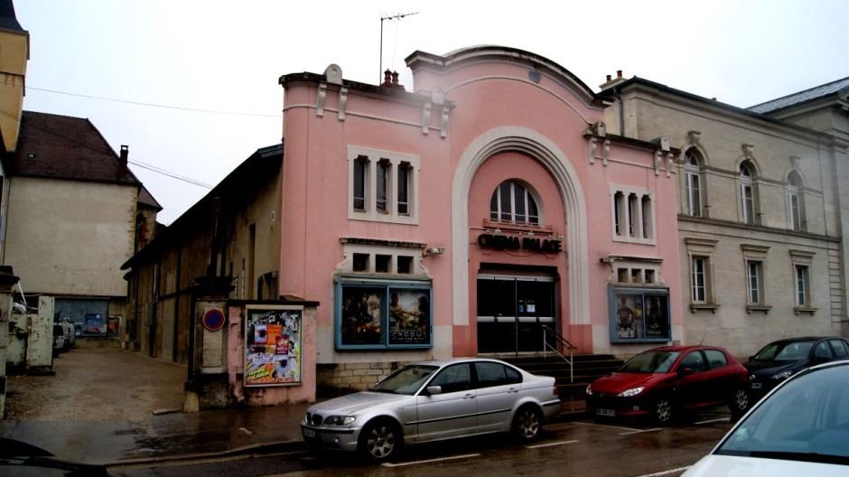 Le Cinéma Palace de Lons-le-Saunier.