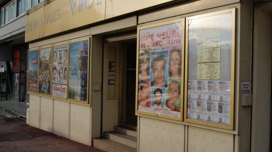 Le cinéma Victoria d'Aix-les-Bains.
