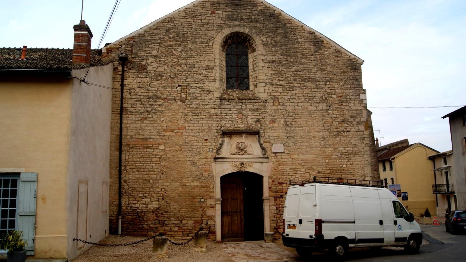La tour du portier et le r fectoire des moines de tournus - La cuisine du monstre tours ...