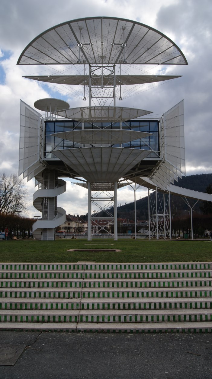 La Tour de la Liberté de Saint-Dié-des-Vosges.