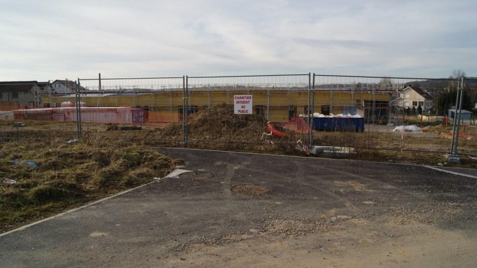 Construction du groupe scolaire et d'une Bibliothèque à Uxegney.