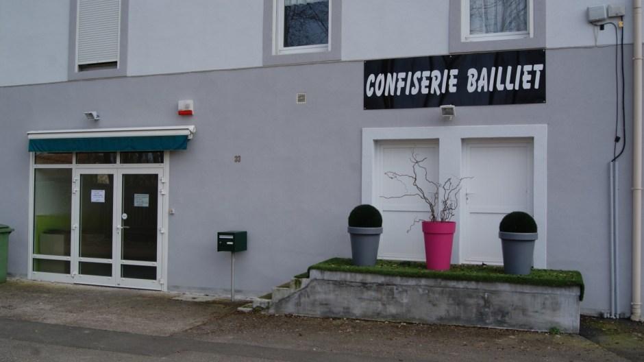 La confiserie Bailliet à Golbey.