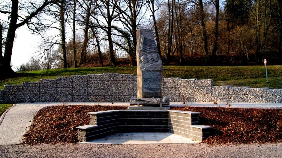 La stèle de Noirgueux à Saint-Nabord.