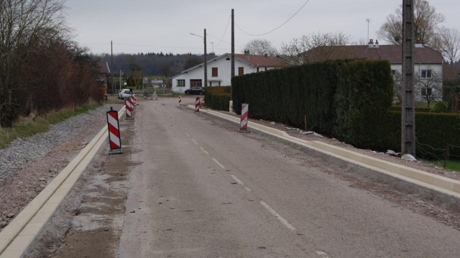 Aménagement de la traversée de la commune d'Harol.