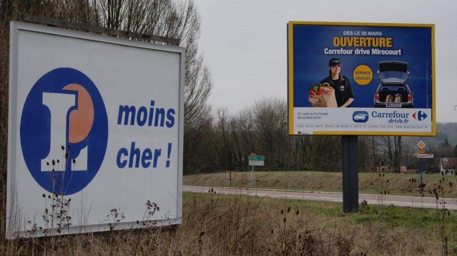 Lancement des travaux de construction du futur hypermarché Leclerc de Mirecourt.