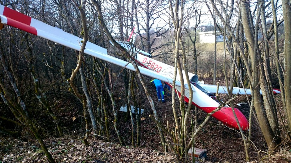 Crash d'un ULM à l'Aérodrome d'Epinal.
