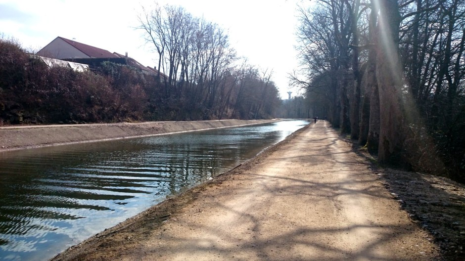 Fin des travaux dans le Canal des Vosges.